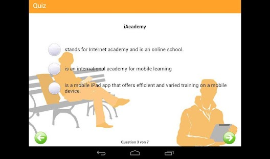 iAcademy- screenshot thumbnail