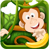 Monkey Safari Run Badland Kong APK for Bluestacks