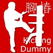 Wooden Dummy Kicking Form