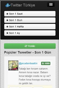 Twitter Türkiye - screenshot thumbnail