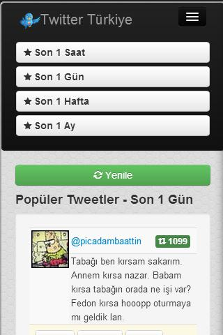 Twitter Türkiye - screenshot