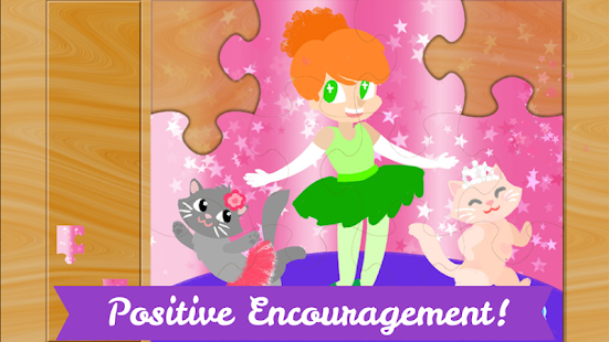 Ballerina Puzzles for Kids- screenshot thumbnail