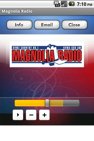 Magnolia Radio- screenshot