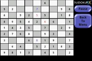 Screenshot of Sudoku SpyCam