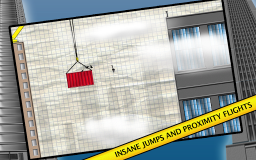 Stickman Base Jumper 4.0 screenshots 11