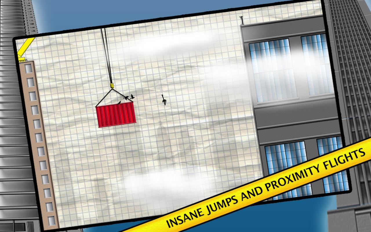 Stickman Base Jumper screenshot #11