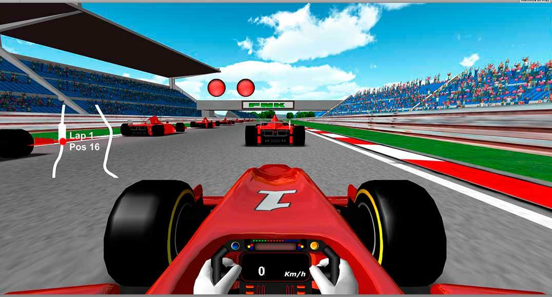 Formula Unlimited Racing - screenshot