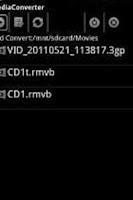 Screenshot of ffmpeg codec arm v6