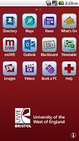Screenshot of UWEmobile