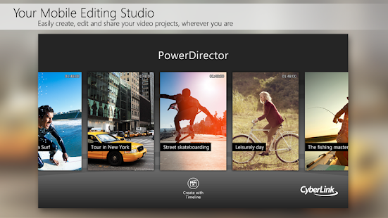PowerDirector - Bundle Version- screenshot thumbnail