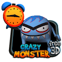 Crazy Monster 3D HD Free lwp icon