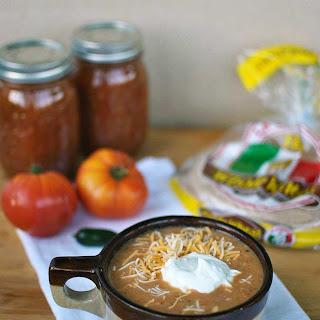 30 Minute Chicken Tortilla Soup