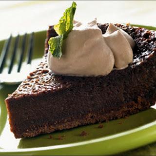 Easy Chocolate Custard Pie.