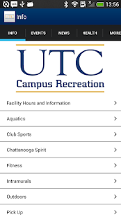 UTC Campus Rec - screenshot thumbnail