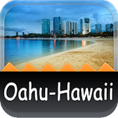 Oahu-Hawaii Offline Map Guide