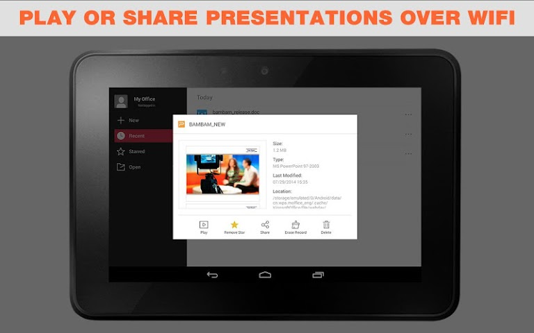 android WPS Office + PDF Screenshot 12