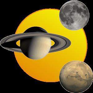 Sun, moon and planets 教育 App LOGO-硬是要APP
