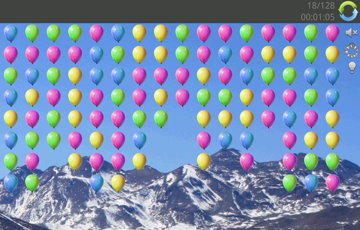 Balloon pop- screenshot