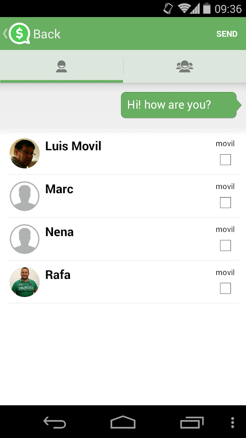 quack! messenger - screenshot