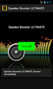 Speaker Booster ULTIMATE - screenshot thumbnail