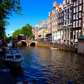 Amsterdam by Jamie Tambor - Instagram & Mobile iPhone ( holland, amsterdam, travel, iphone, canal,  )