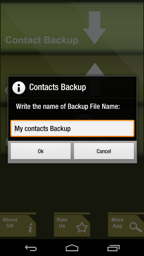 Contacts Manager - screenshot