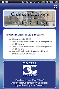Odessa College App - screenshot thumbnail