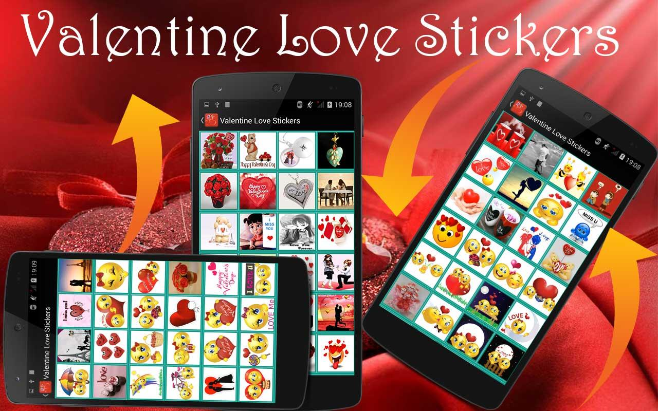 love stickers for chat android apps on google play. Black Bedroom Furniture Sets. Home Design Ideas