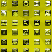 Liquid Yellow Icon Pack