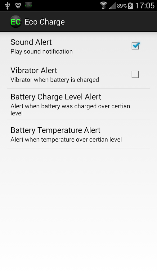 Eco Charge,extend battery life- screenshot