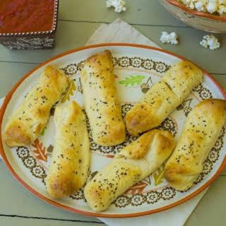 Pizza Stone Mozzarella Sticks.