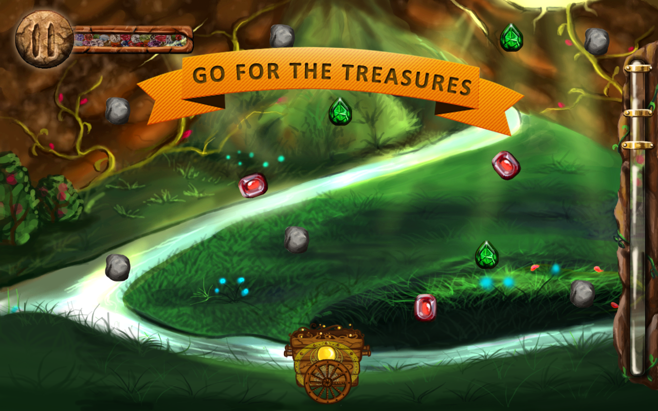 Treasure On Wheels- screenshot
