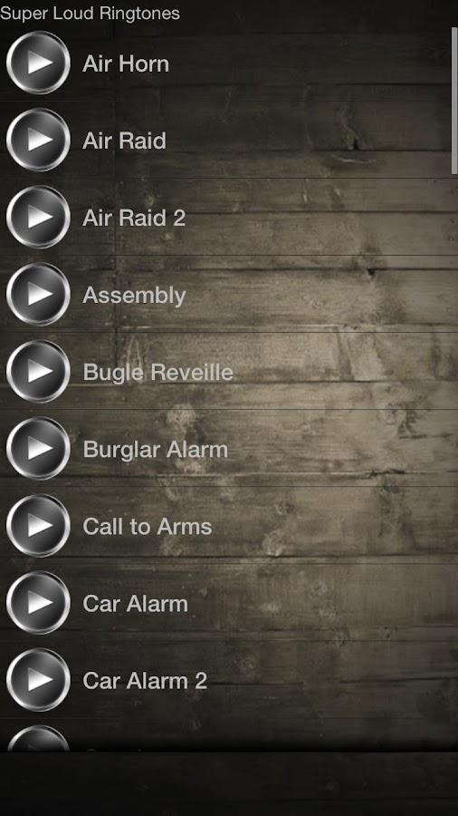 Super Loud Ringtones- screenshot