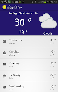 SkyShine-Weather Forecasting screenshot 7