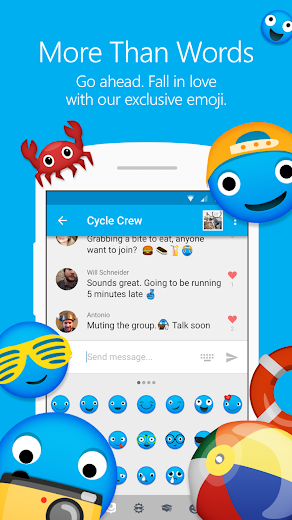 Screenshot 2 for GroupMe's Android app'