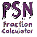 PSN Fraction Calculator icon