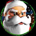 Santa Run 3D Christmas Game icon