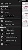 Screenshot of Bank of Texas Mobile