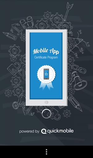 Mobile App Certificate Program