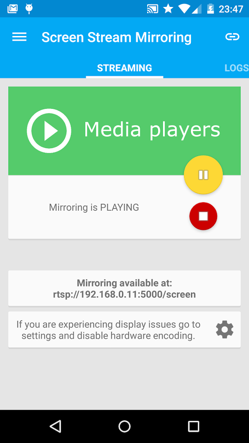 Screenshots of Screen Stream Mirroring Free for iPhone
