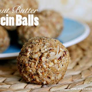 (buff Mama Monday) Peanut Butter Protein Balls.