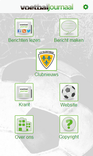 Voetbaljournaal- screenshot