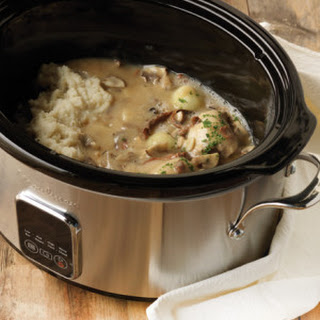 Slow Cooker Chicken Chasseur.