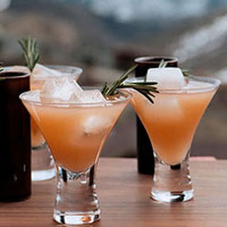 Rosemary Ruby Cocktails.