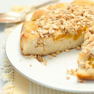 Swedish Apricot and Almond Cake.