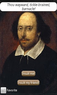 Insults for Shakespeare Geeks - screenshot thumbnail
