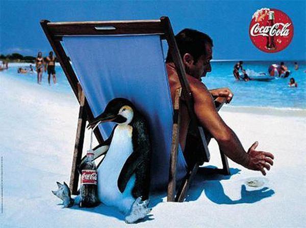 Coke Penguin