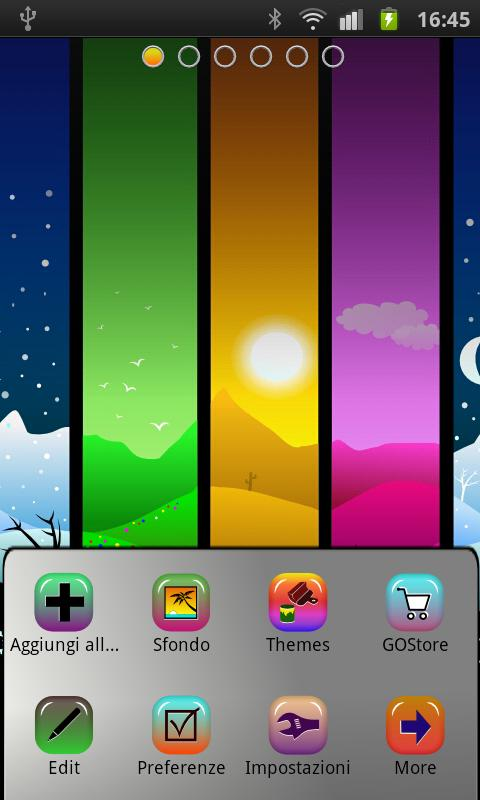 Season  theme GO Launcher EX- screenshot