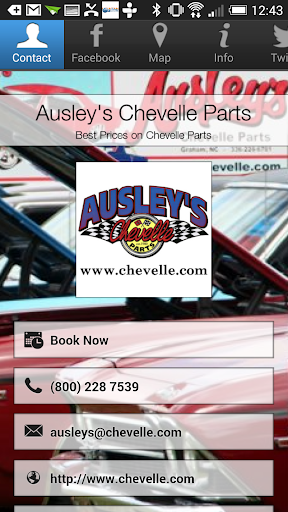Ausley's Chevelle Parts