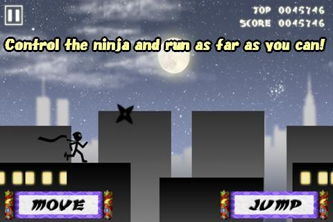 Stick Ninja Hyper Jumper - screenshot